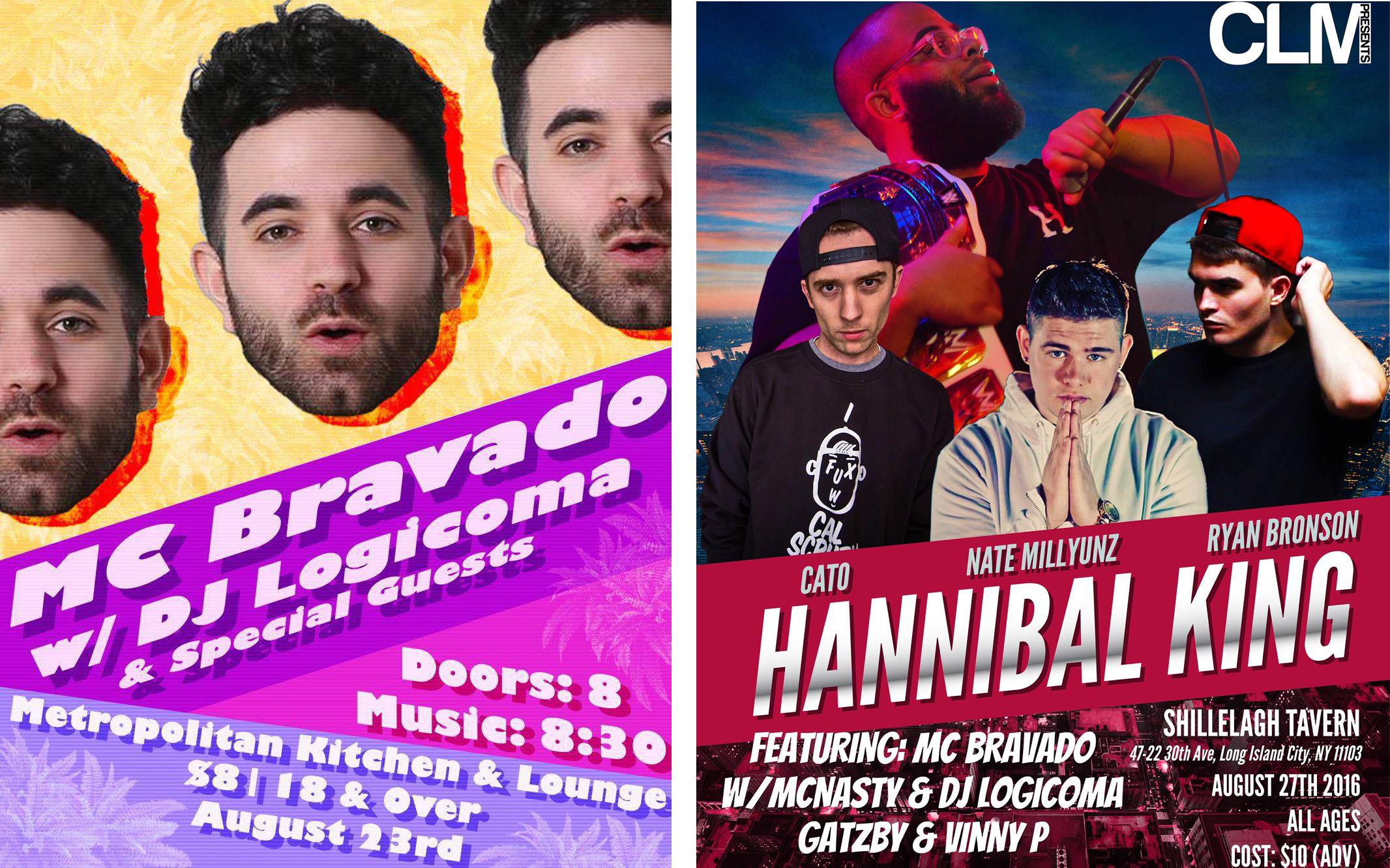 MC Bravado Summer 2016 Shows